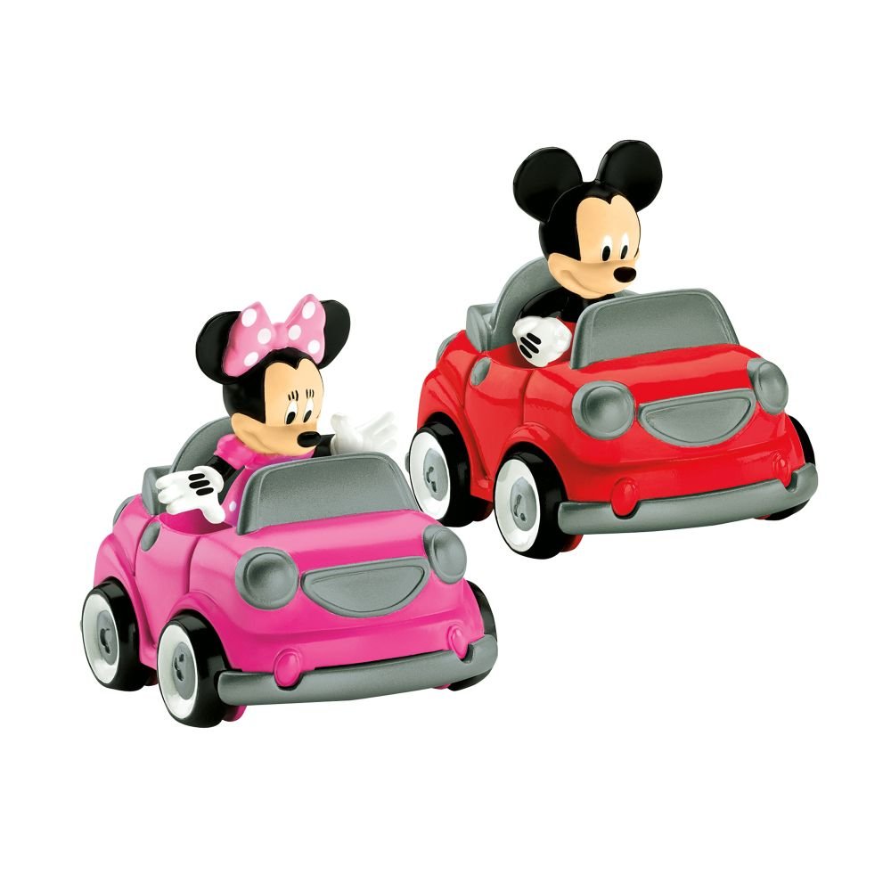 Fisher-Price Mickey's Car and Minnies Car