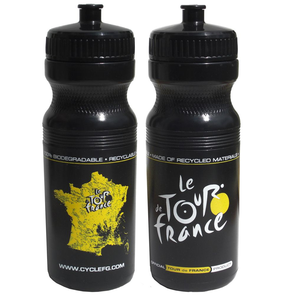 Tour De France Tour De Jour Series TDF 24oz Black Bottle