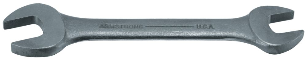 3/8 x 7/16 in. Black Oxide Open End Wrench