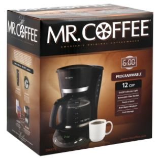 Mr. Coffee  Coffeemaker, Programmable, 12 Cup, 1 coffeemaker