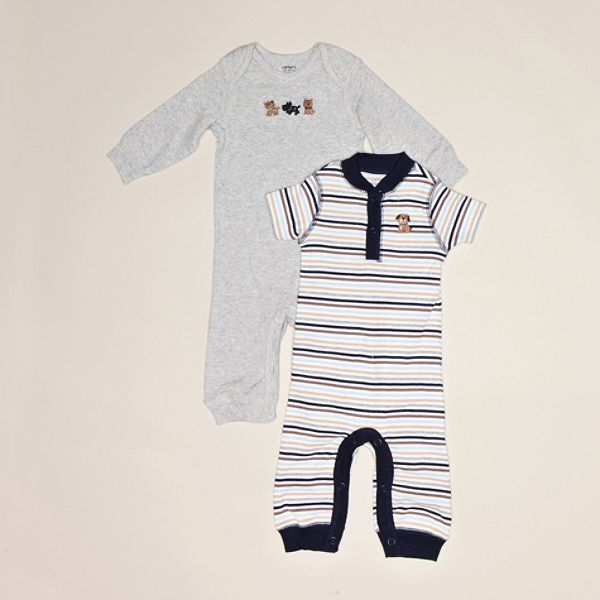 Carters Newborn Boys 2 pack Coveralls