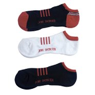 Joe Boxer Men's Low Cut Mesh Stripe Socks - 3-Pack at Kmart.com