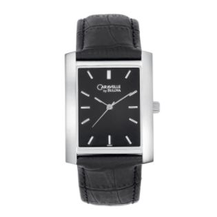 Caravelle  Mens Dress Watch with Black Dial