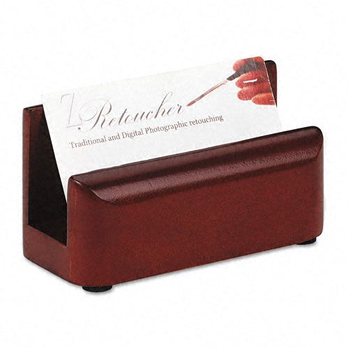 Rolodex Wood Tones Business Card Holder $ 6.91