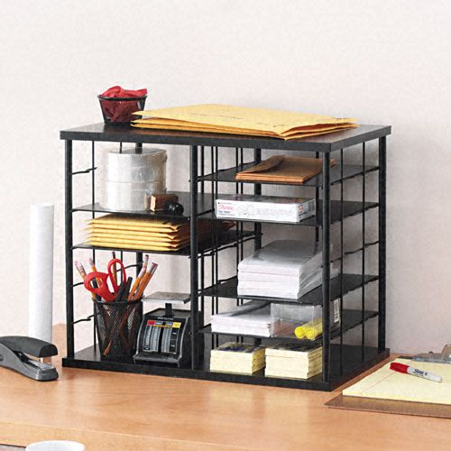 Rubbermaid 12-Slot Desktop Organizer, Black $ 62.32