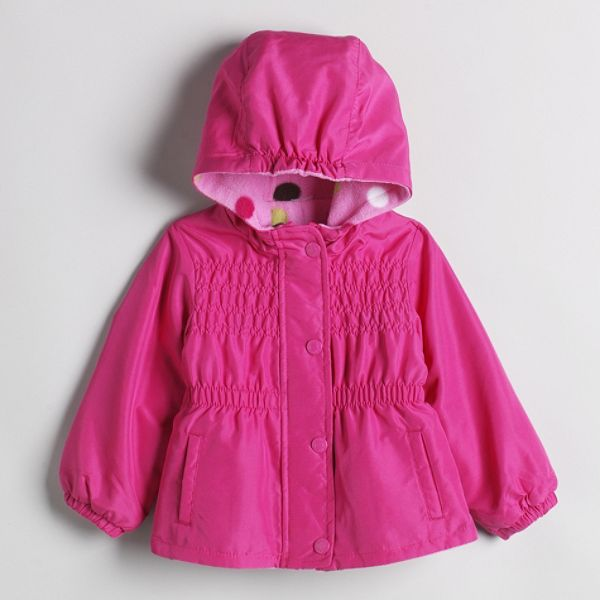 Carters Infant Girls Jacket Reversible Fleece