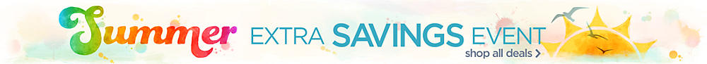 The Summer Extra Savings Event