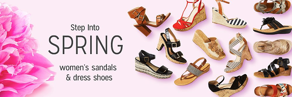 womens spring shoe styles & sandals