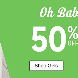 50% off Baby Clothing