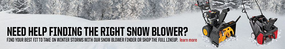 Need help finding the right snow blower?