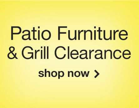 Patio Furniture & Grill Clearance