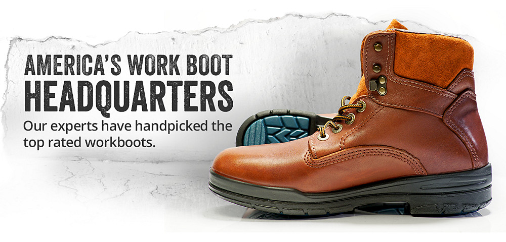 Men's Wolverine work boots