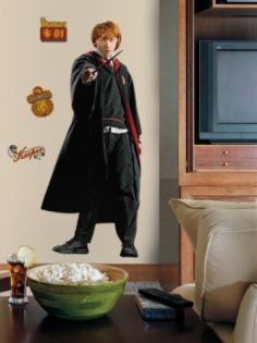RoomMates  Harry Potter - Ron Peel & Stick Giant Wall Decal