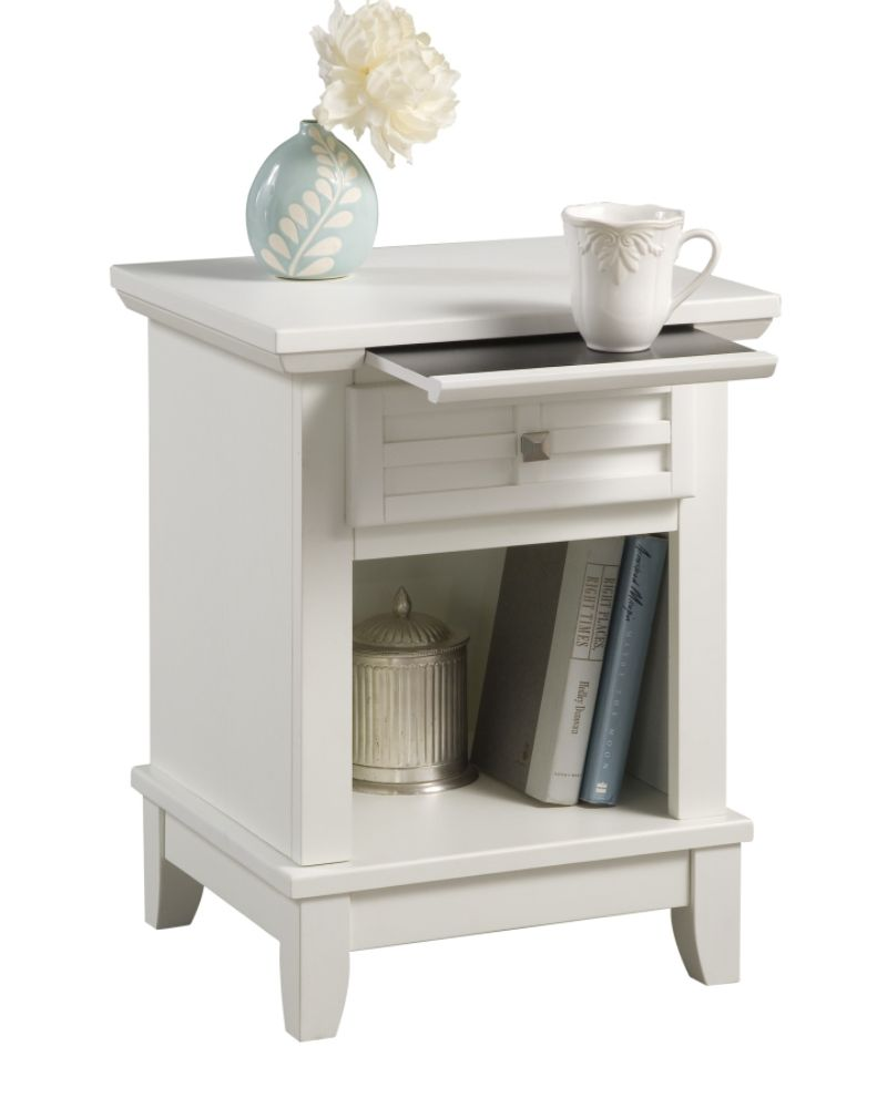 Home Styles Arts & Crafts Night Stand White