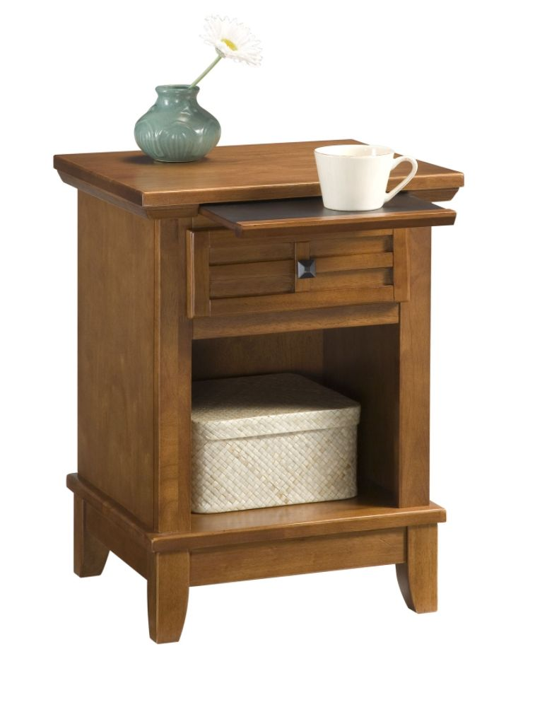 Home Styles Arts & Crafts Night Stand Brown