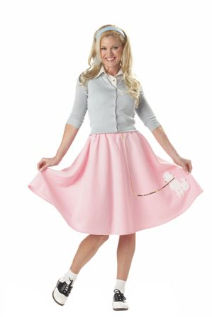 California Costume Collections Poodle Skirt Adult Costume
