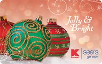 Jolly & Bright Ornament Gift Card