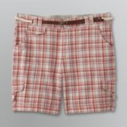 Gloria Vanderbilt Women's Plus Plaid Shorts at Sears.com