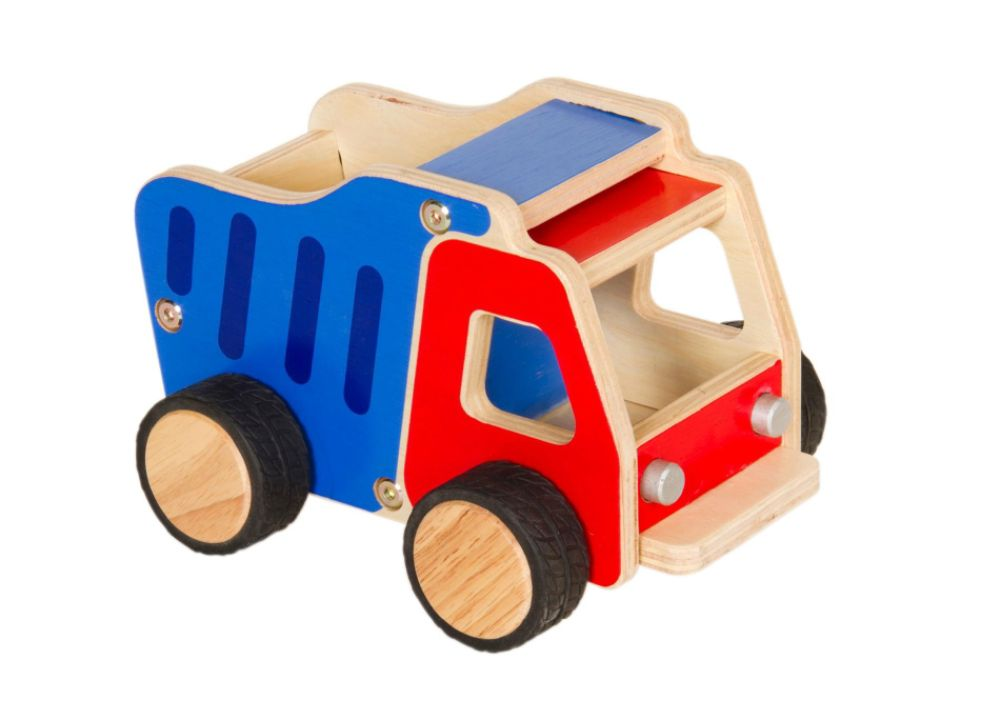 Guidecraft Dumptruck Plywood Truck Multi-color