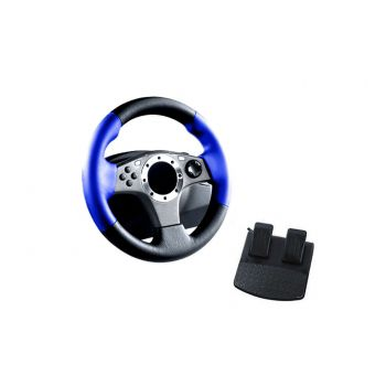MGear 2 in 1 Racing Wheel for Playstation 2