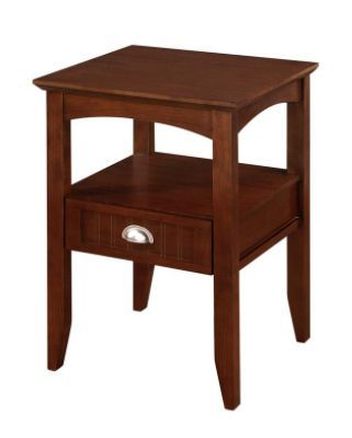 Dorel Asia Aspen Night Stand Walnut Brown