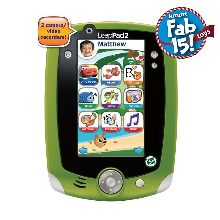 LeapFrog LeapPad2 Explorer Learning Tablet, Green