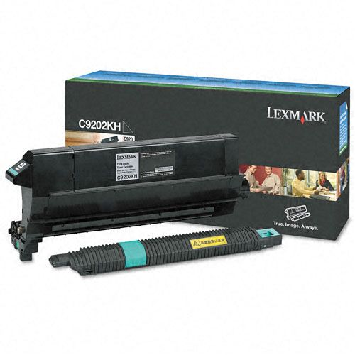 Lexmark C9202KH Toner Cartridge, Black