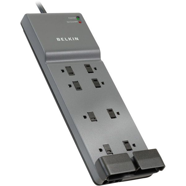 Belkin 8-Outlet Surge Protector With Phone/Modem Protection