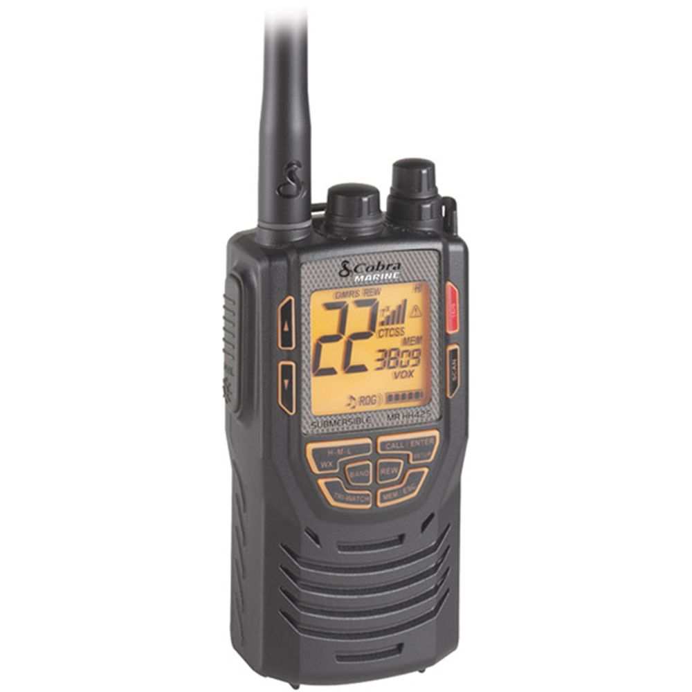 Cobra Marine Hand-Held Dual Band Transceiver