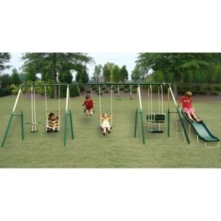 The Adventure Play 8-Leg Swing Set