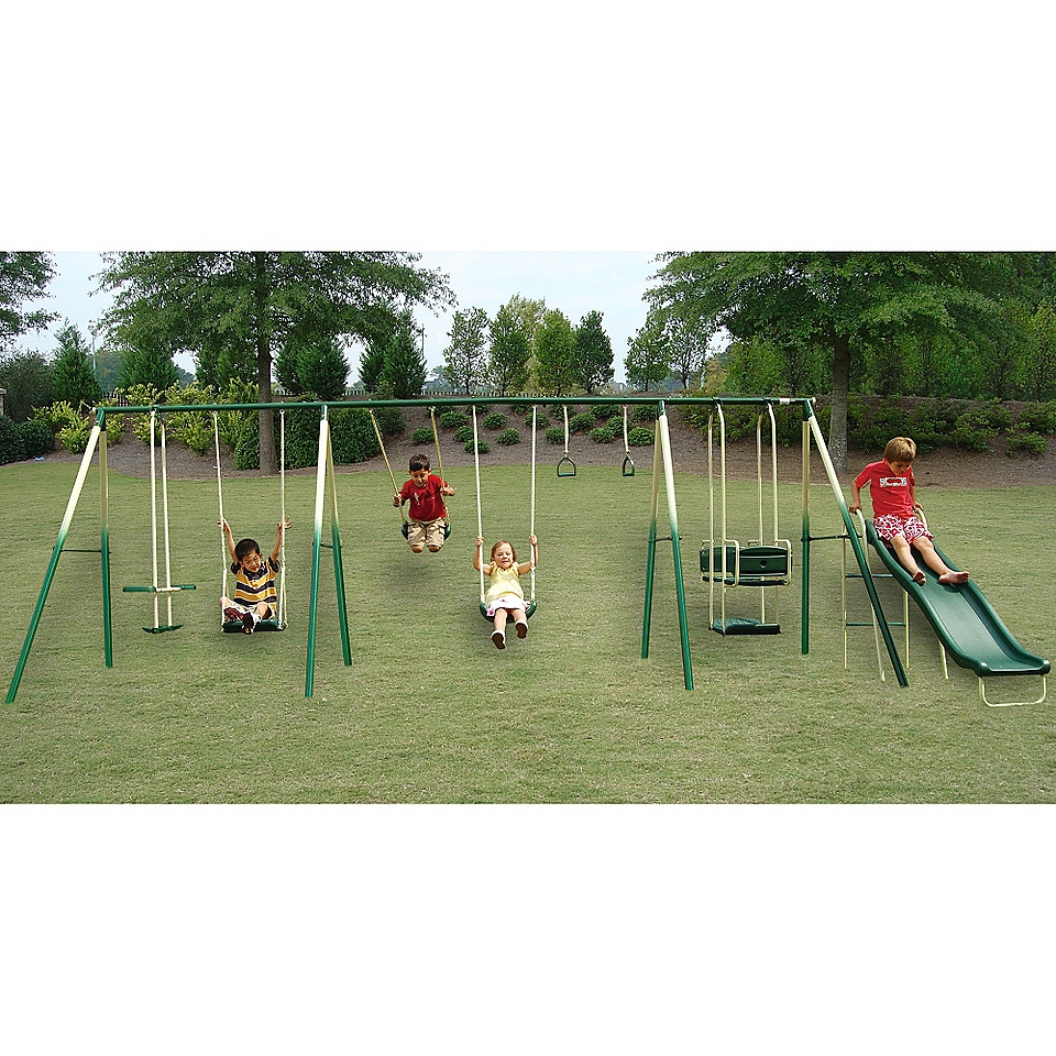 Adventure Play Swing Set Outdoor Fun Begins at Kmart