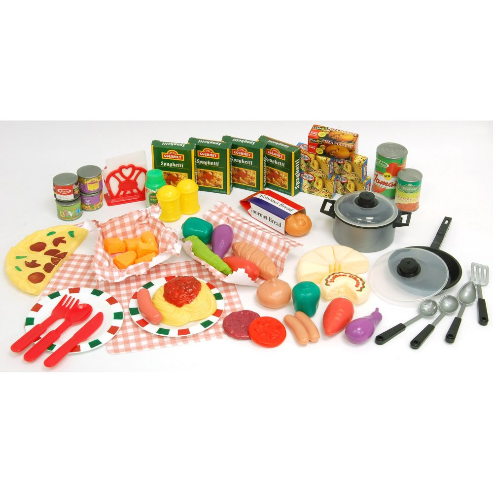 Just Kidz 80-pc. Italian Play Food