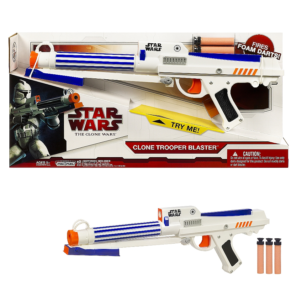 Star Wars Clone Trooper Blaster  Toys & Games Outdoor Play Blasters