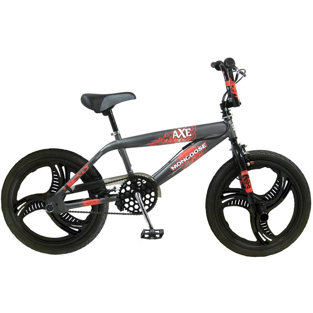 Bikes Mongoose on Mongoose B Axe 20 Inch Boy S Bmx Bike