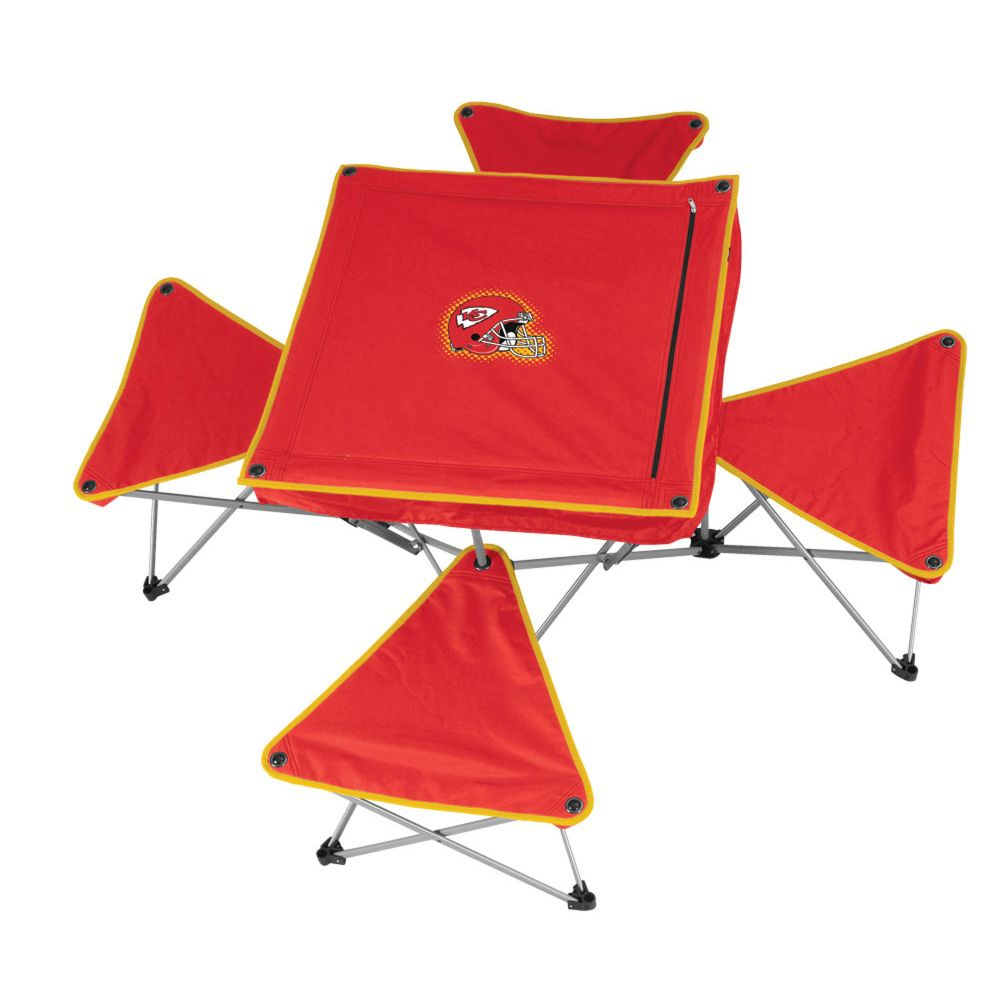 Table w/4 Stools-Chiefs $ 149.99