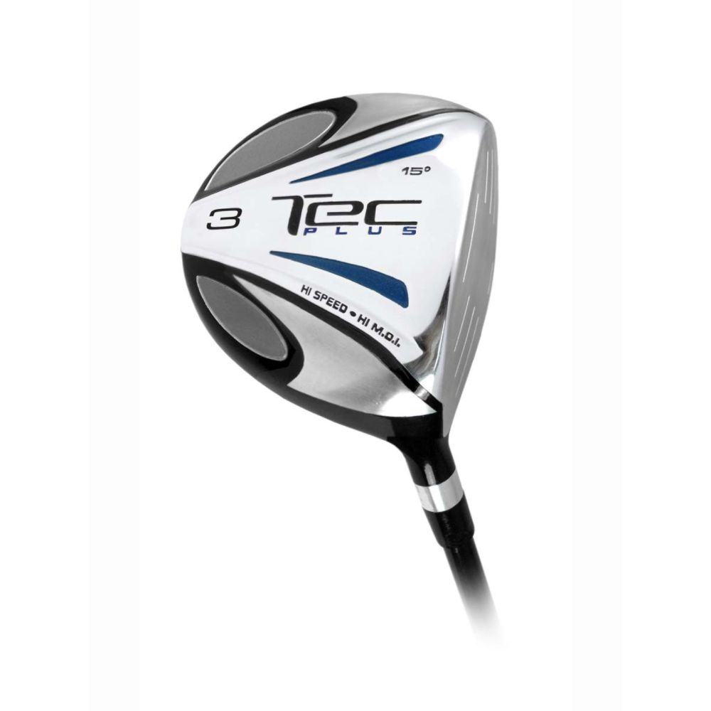 Intech Tec Plus 3 Wood Mens Right Hand Graphite