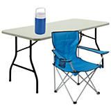 Sillas y mesas para campamento