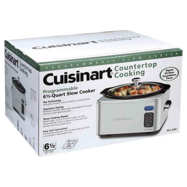 Cuisinart Slow Cooker 6 1 2 Quart Programmable 1 slow cooker