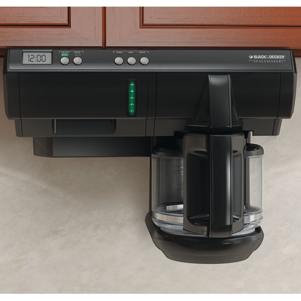 Black & Decker Spacemaker Under Counter 12- Cup Coffee Maker Reviews