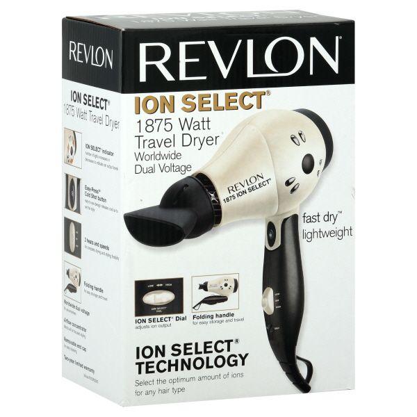 Revlon RV519 1875-watt Ion Select Blow Dryer - Compare Prices