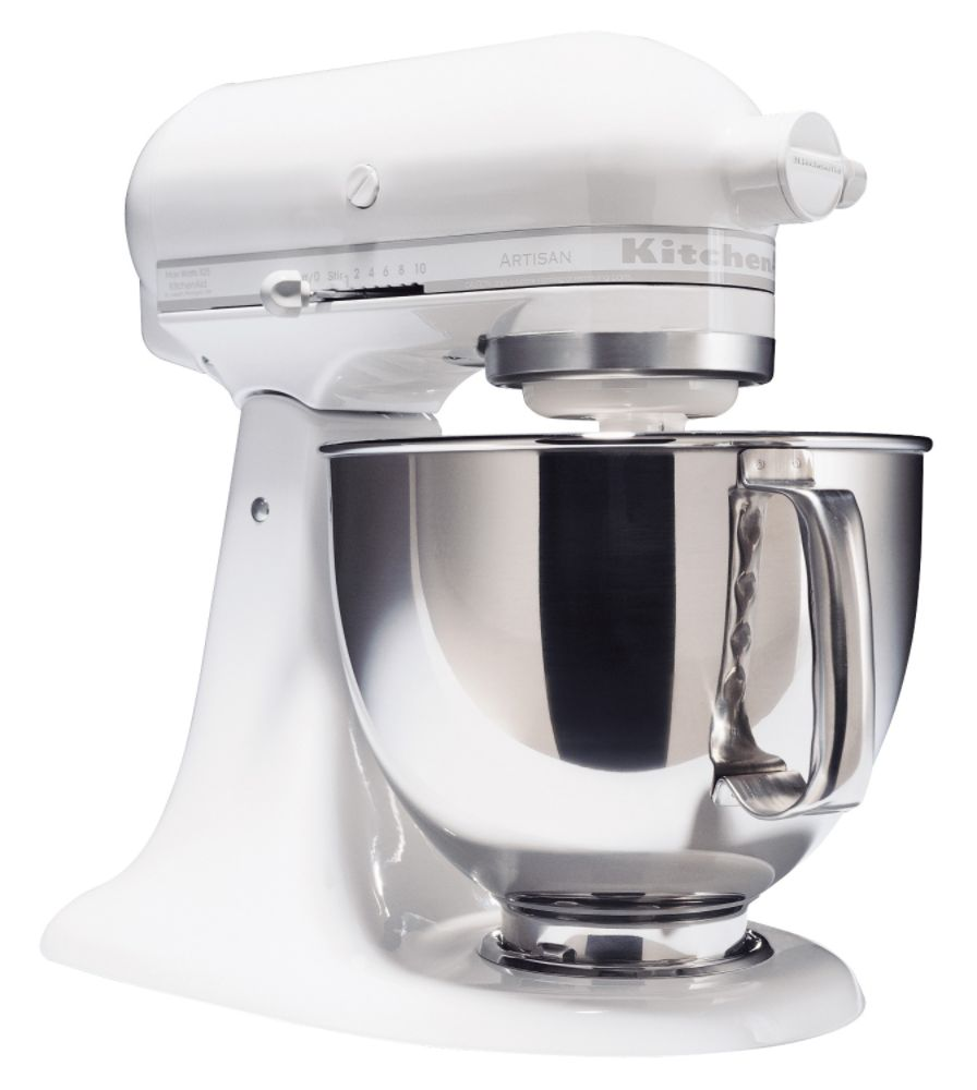 KitchenAid Artisan Series 5 qt. Stand Mixer - White on White
