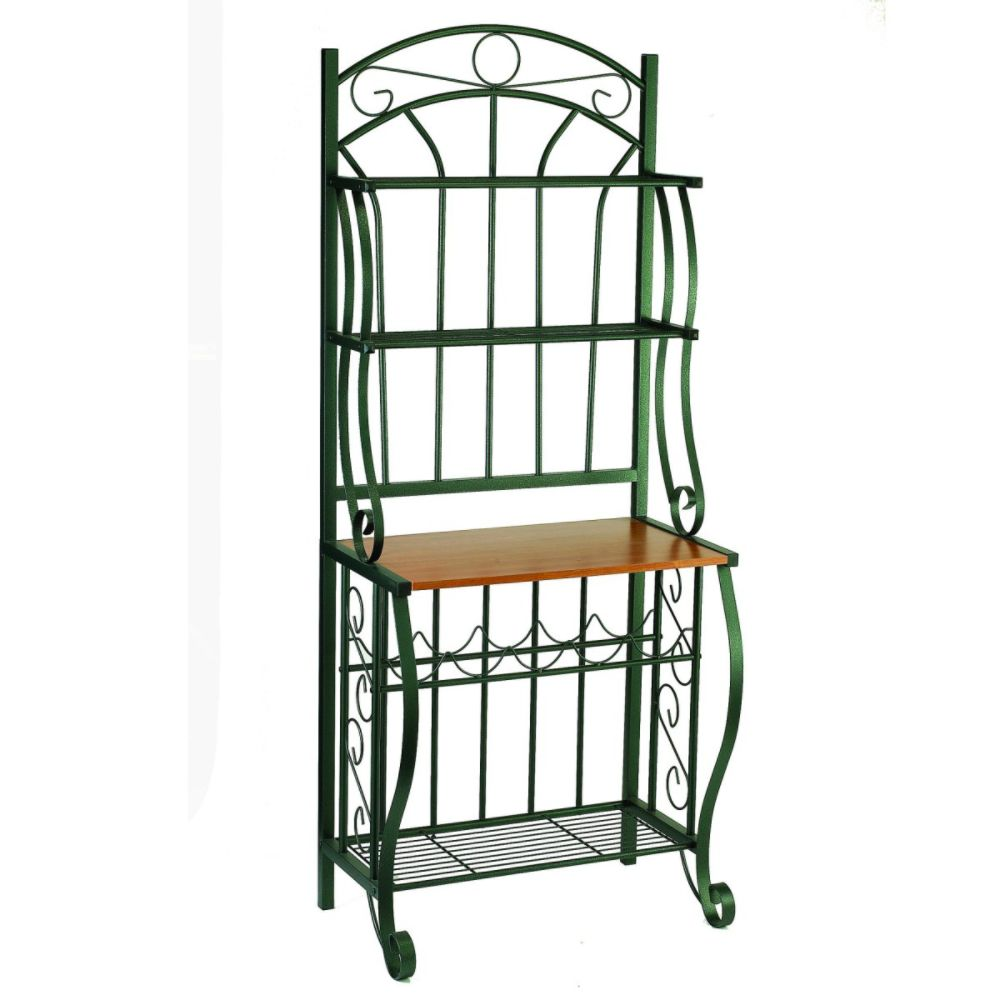 Old Dutch Baker s Rack w/Wine Rack