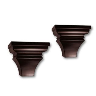 InPlace  Pair Sconces - Espresso