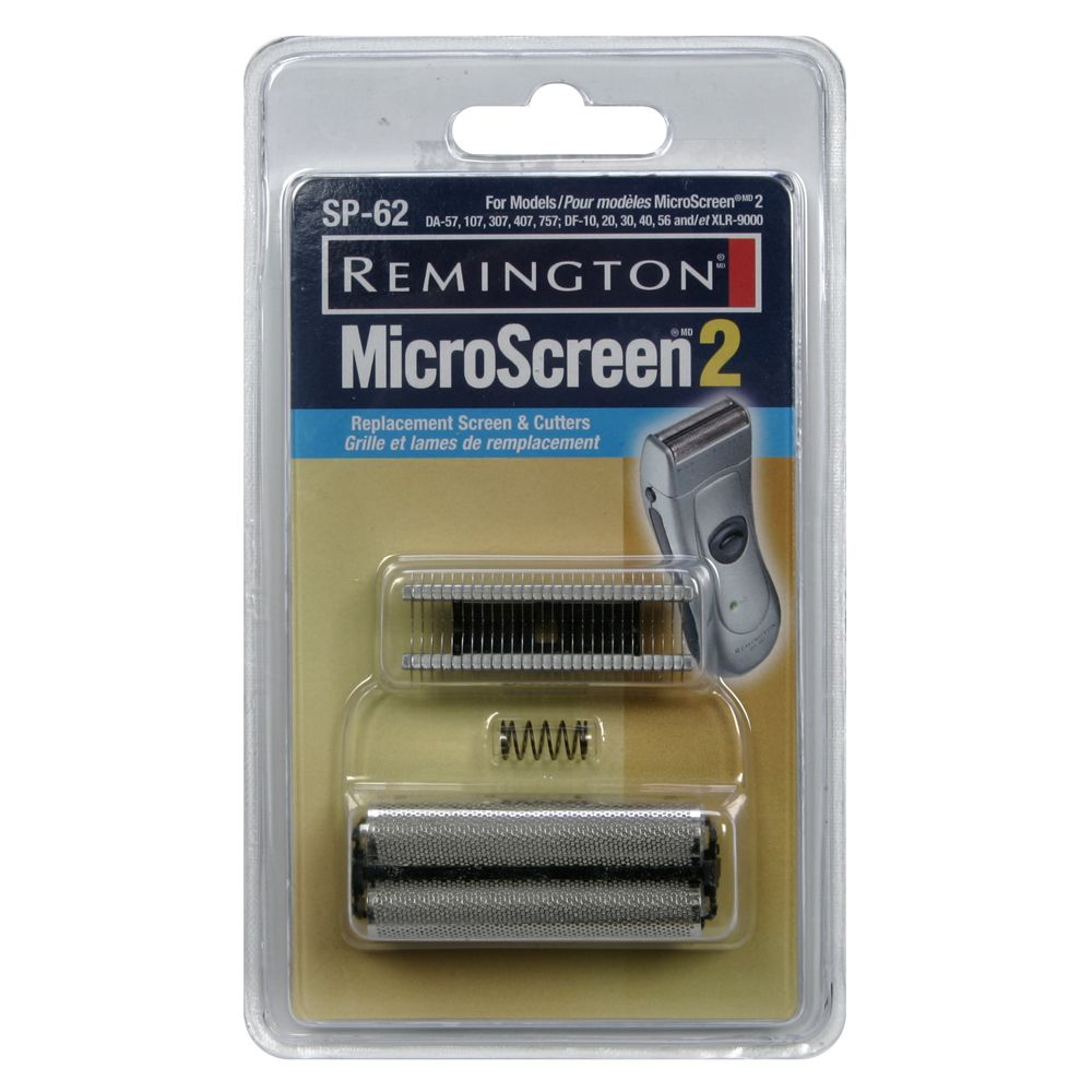 Remington MicroScreen 2 Replacement Screen & Cutters, 1 replacement set - REMINGTON PRODUCTS COMPANY, LLC.