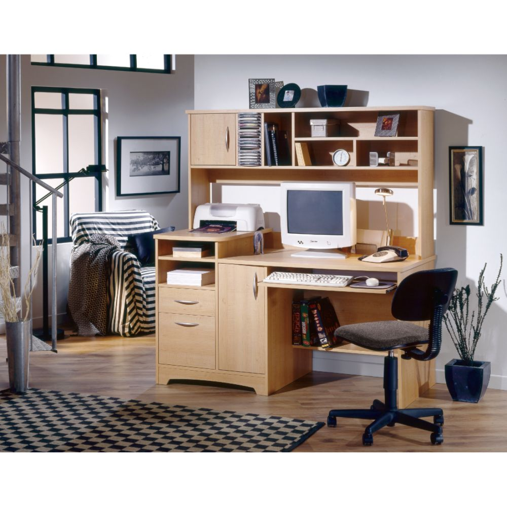 Furniture Gt Office Furniture Gt Computer Gt Natural Maple