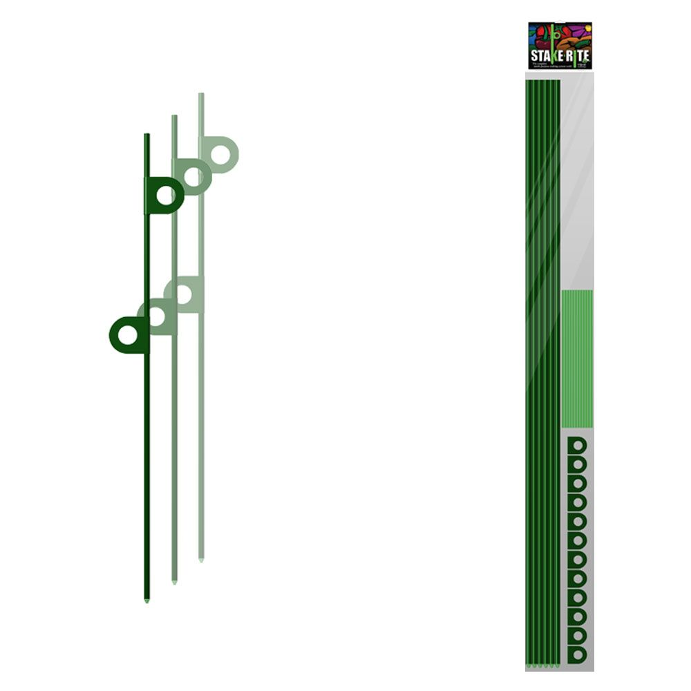 Garden Stake Kit - Tomato Stakes - 6 Stakes plus Accessories