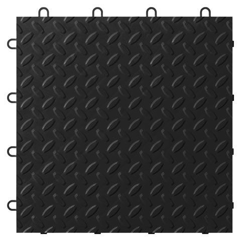 Tile Flooring - Black, 24 pack