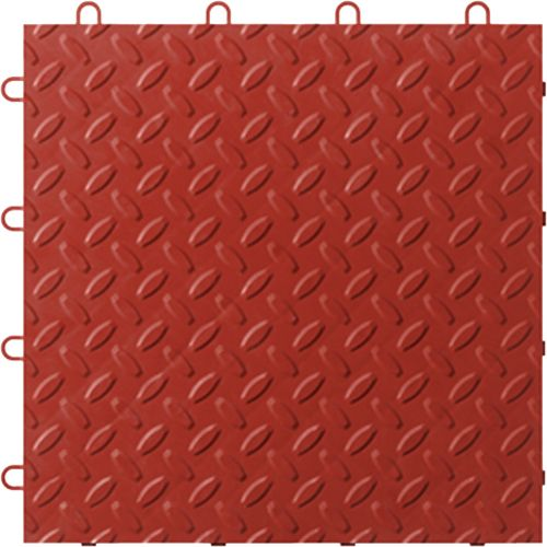 Red Tile Flooring 48 Pack
