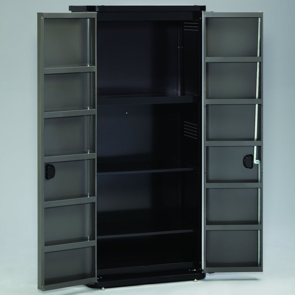 Tall Floor Cabinet - Platinum