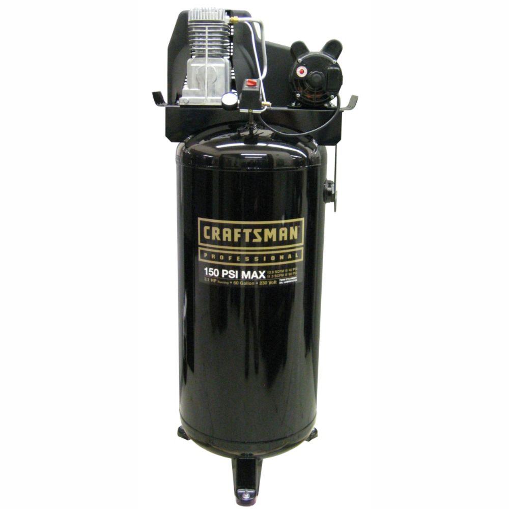 60 gallon vertical air compressor today find kobalt 3 7 hp 60 gallon